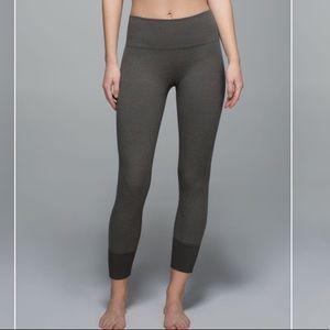 Lululemon Ebb To Street Pant Heathered Wren Size 6